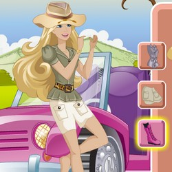 Barbie safari